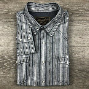 Wrangler Retro Pearl Snap Button Front Shirt